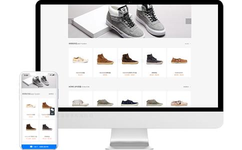 鞋子电商落地页、宣传页、专题页模板