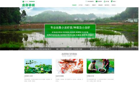 水产养殖企业网站模板,水产养殖企业网页模板,响应式模板,网站制作,网站建设