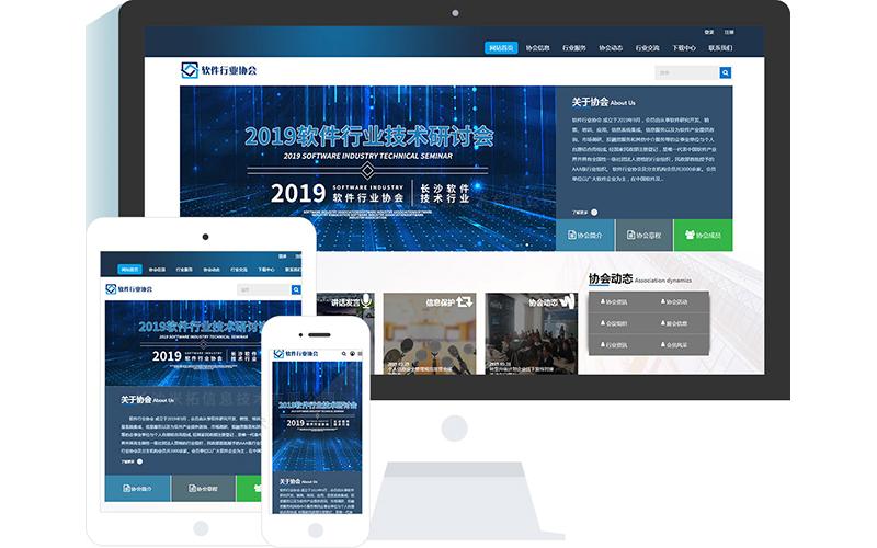 软件联合会网站模板,软件联合会网页模板,软件联合会响应式模板