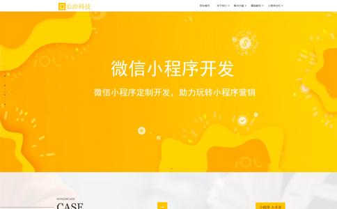 小程序开发网站模板,小程序开发网页模板,响应式模板,网站制作,网站建设