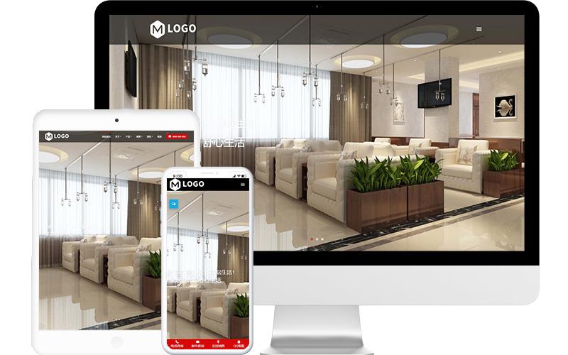 室内设计公司网站模板,室内设计公司网页模板,室内设计公司响应式网站模板
