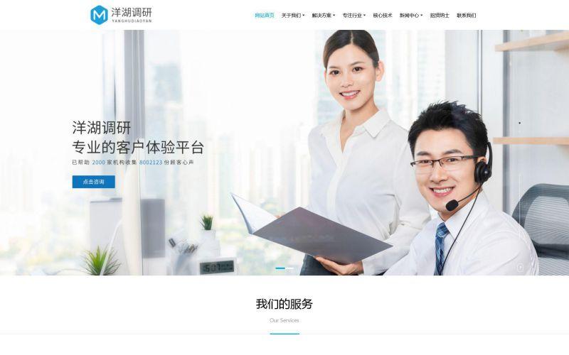 市场调查公司网站模板,市场调查公司网页模板,市场调查公司响应式网站模板