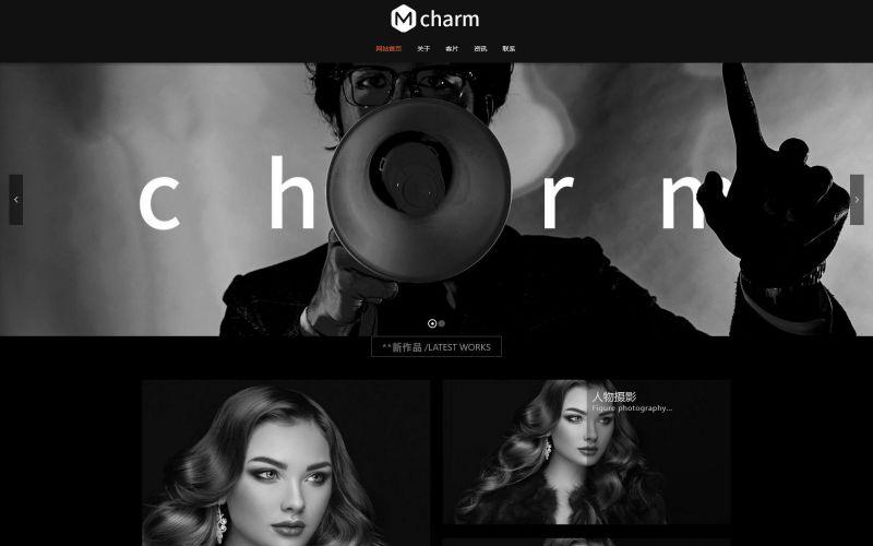 艺术摄影工作室网站模板,艺术摄影工作室网页模板,艺术摄影工作室响应式网站模板