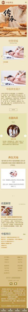 中医理疗网站模板,中医理疗网页模板,中医理疗响应式网站模板