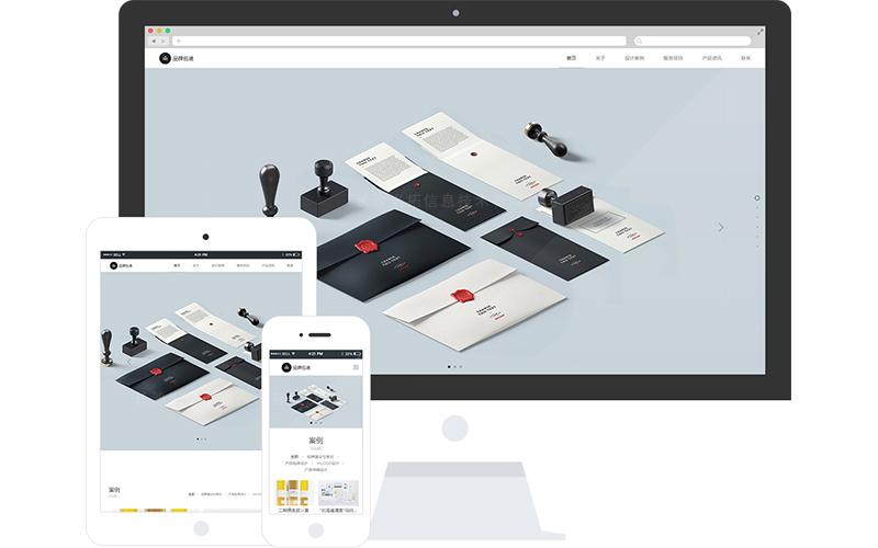 設計工作室網站模板,設計工作室網頁模板,設計工作室響應式網站模板