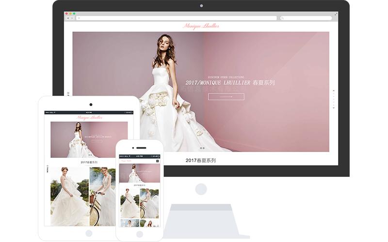 婚纱设计网站模板,婚纱设计网页模板,响应式模板,网站制作,网站建设