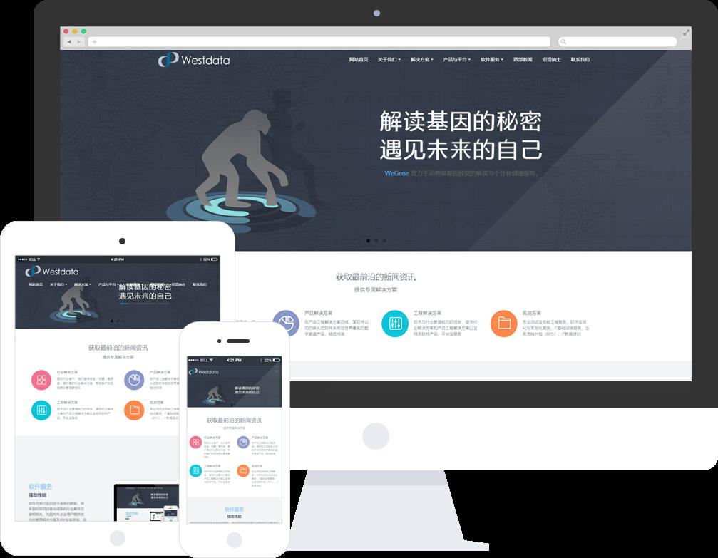 软件公司网站建设_网站制作_网站模板_MetInfo