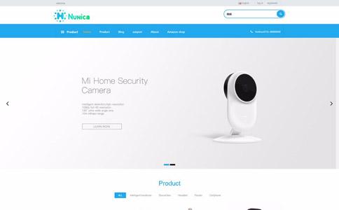 科技产品商城响应式网站模板