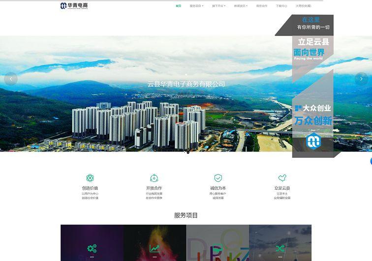 临沧电子商务平台网站建设