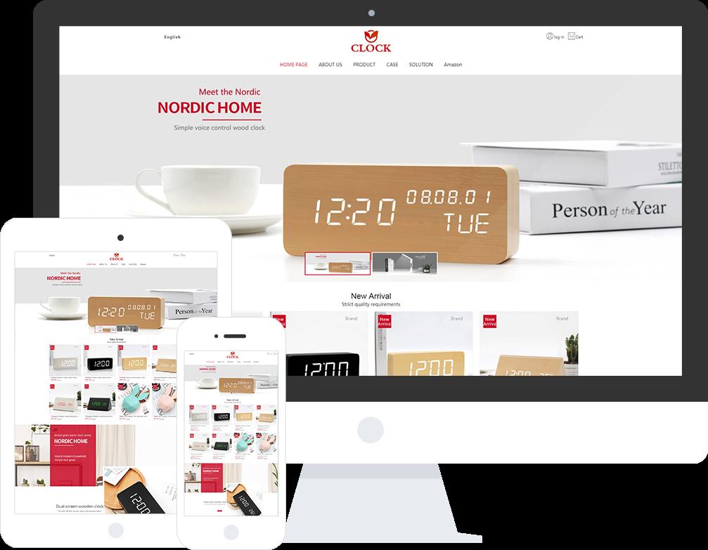 电子产品企业网站模板_电子产品企业网站模板整站源码_响应式网页设计制作搭建